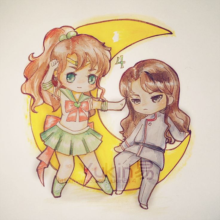 Sailor Jupiter And Nephrite 17 Best images about N...
