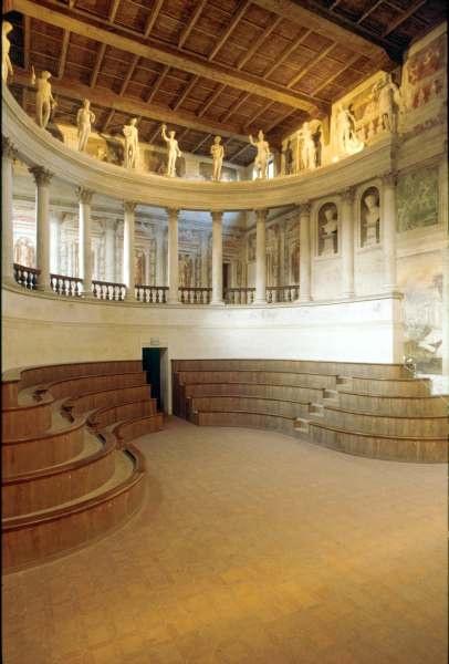 Vincenzo Scamozzi, Teatro all'antica, 1588-90, Sabbioneta