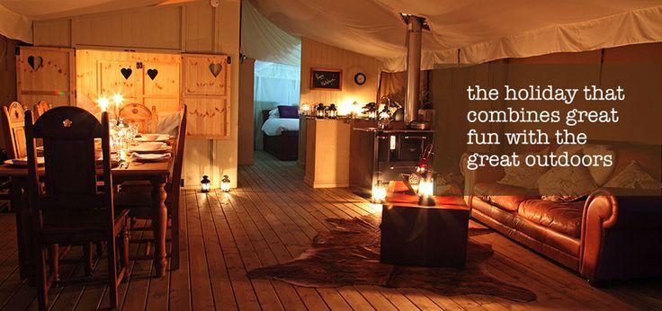 UK Glamping Holidays - Luxury camping on the Norfolk Coast