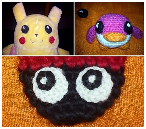 Positioning Amigurumi Eyes : 1000+ images about Crochet Eyes on Pinterest Baby dragon ...