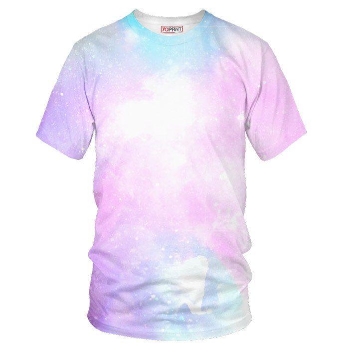 Pastel Galaxy t shirt - Sublimation - YO PRNT