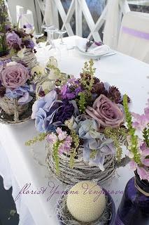 Лавандовая свадьба, прованский стиль.