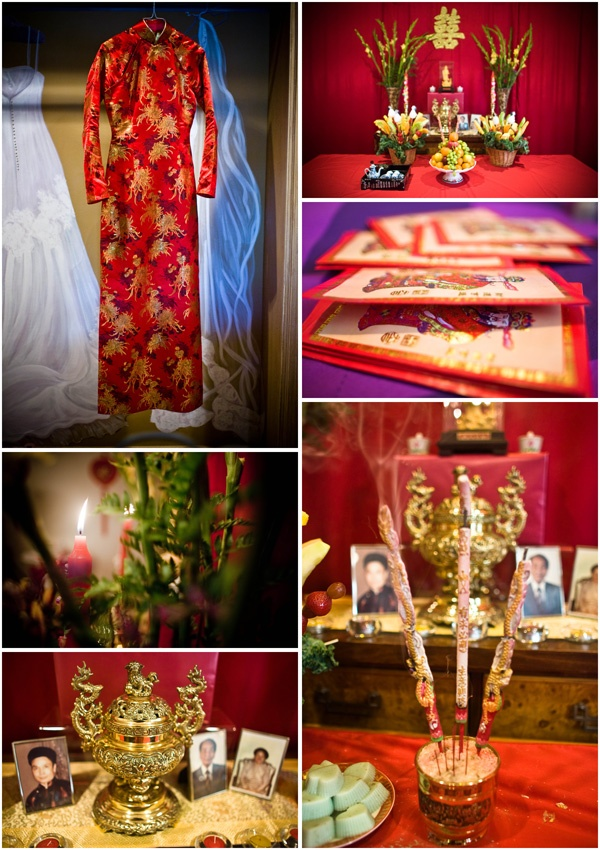 Traditional wedding elements