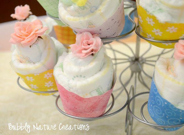Diaper Cupcakes Tutorial!
