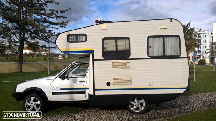 7 900 EUR: Autocaravana nacional,  para 5 pessoas de livrete, jantes 15 com pneus novos, pintura impecável, classe 1  motor como novo. aceito carro ou carrimha a troca.