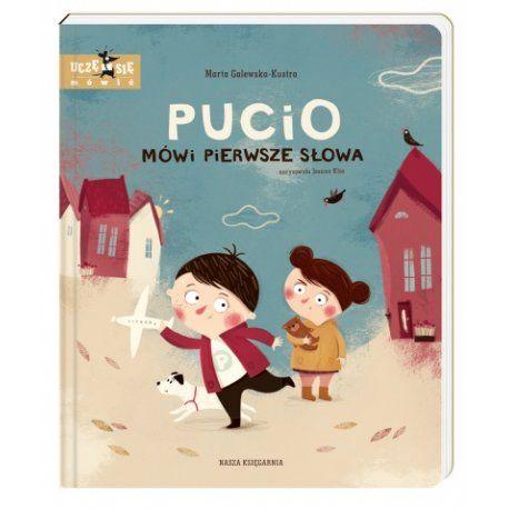 """Witajcie, my dzisiaj z Puciem:)   który pomaga w nauce czytania ...   Książka """"Pucio Mówi Pierwsze Słowa"""" - Wydawnictwo Nasza Księgarnia to już druga część przygód Pucia.   Poświęcona jest pierwszym typowym słowom dziecka, których uczy się rozumienia i używania w pierwszym i drugim roku życia.  Czy pomoże starszym dzieciom?  Sprawdźcie sami:)  #puciomówipierwszesłowa #książka #naszaksięgarnia #niczchin #kraków"""