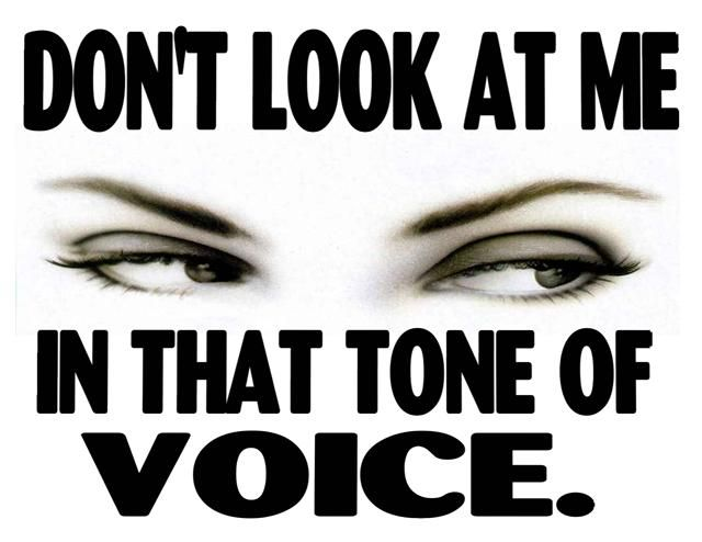 Just don't, got it? #attitude