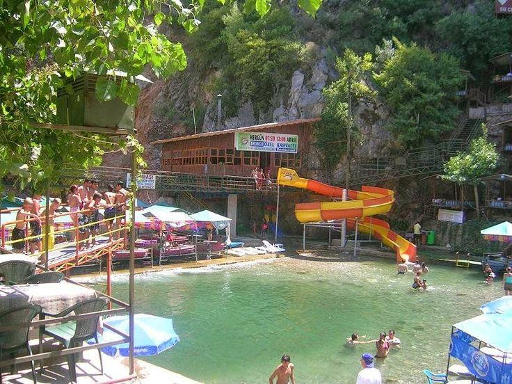 Turecko ...Turkey ....   Türkiye : Valley  and  the river Dim .....Údolie a rieka  Di...