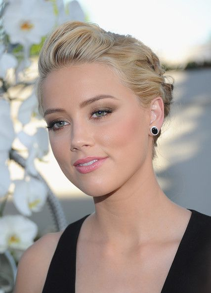 Amber Heard wedding Makeup