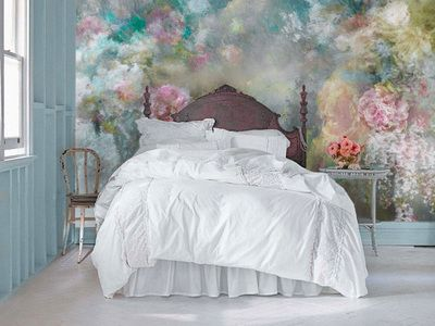Nostalgia Mural Collections creates a romantic and dreamlike ambiance.