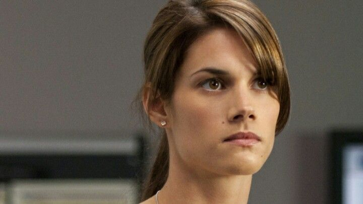 Missy Peregrym, who is playing Andy McNally in Rookie Blue