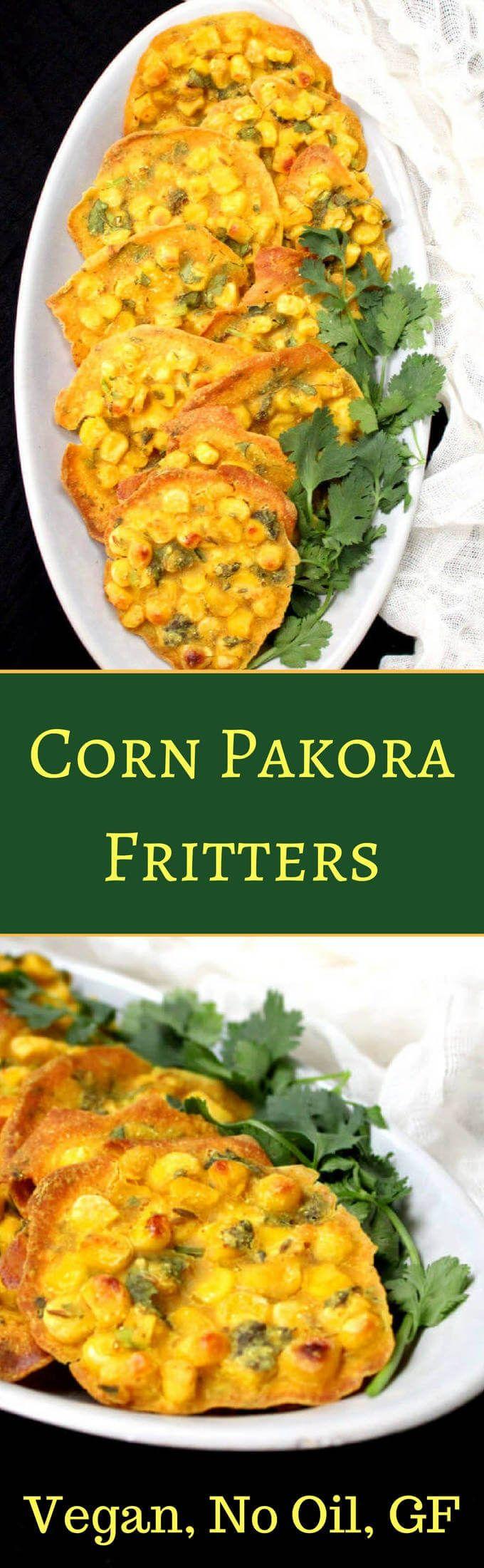 44 best indian vegan and gluten free recipes images on pinterest corn pakora fritters baked no oil indian snacksindian foodsindian dishesindian recipesvegan forumfinder Images