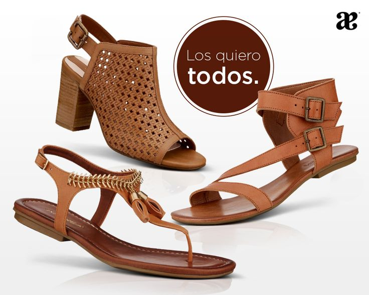 #Sandalias en color #cafe perfectas para empacarlas todas para tus #vacaciones.  #moda #fashion