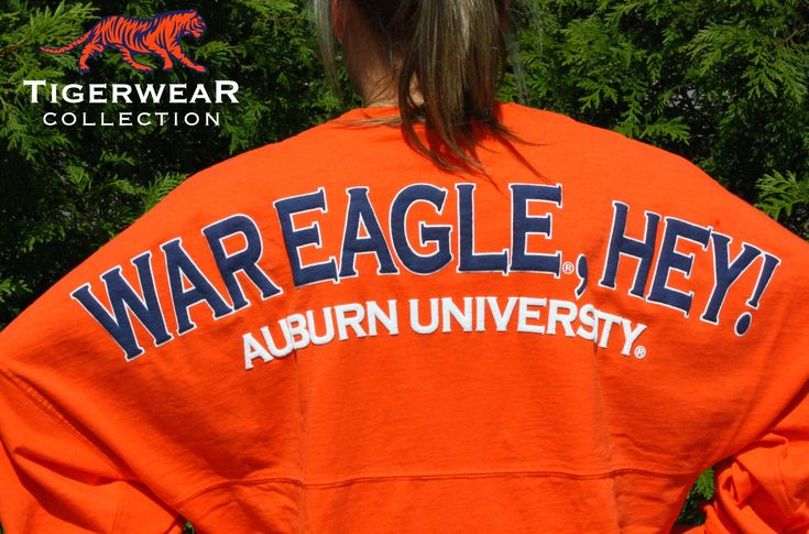 Stay comfy all day or all night  in Tigerwear Collections Classic Spirit Football Jersey® with a cozy over-sized fit. Made with 100% High Quality Cotton – Pre Shrunk and Ready To Wear! Oh and we had throw in some Auburn Pride! War Eagle, Hey!