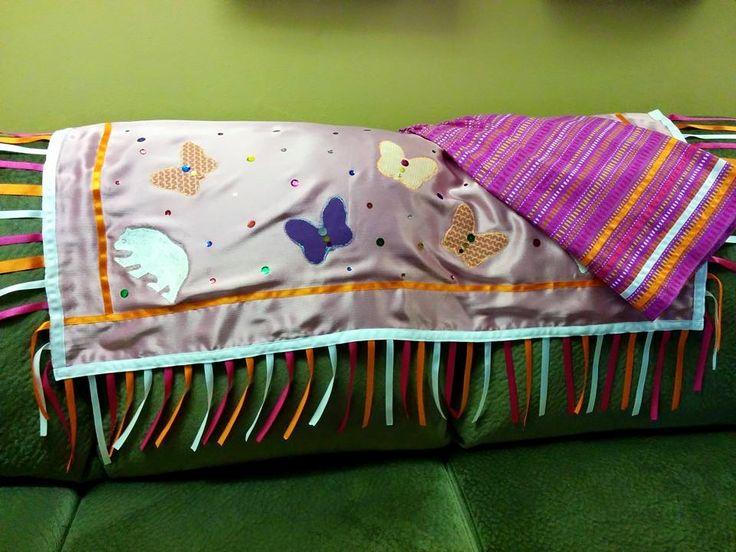 Maliseet shawl & skirt