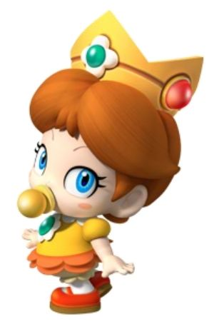 Baby Daisy from Mario Kart Wii