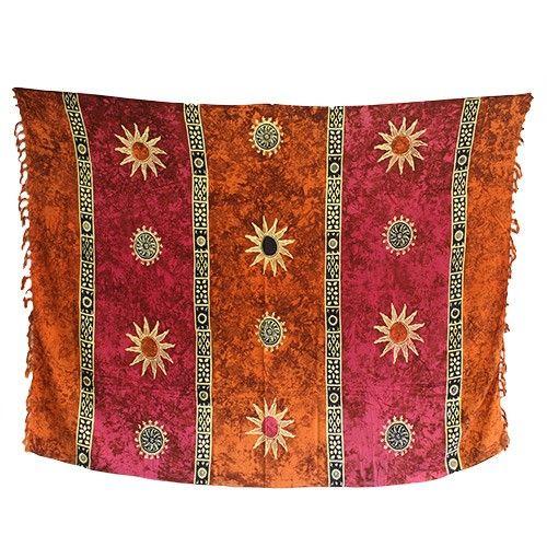 Wholesale Bali Celtic Sarongs - Sun Symbols Scarves  #Summer_Sarongs_Celtic #Celtic_Sarongs_Summer #Summer_Celtic_Sun #Sun_Sarongs