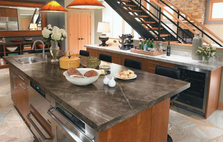 Formica That Looks Like soapstone or slate | Formica Slate Sequoia laminate kitchen  countertop | Home - Kitchen.... :) | Pinterest | Countertop, Slate and ...