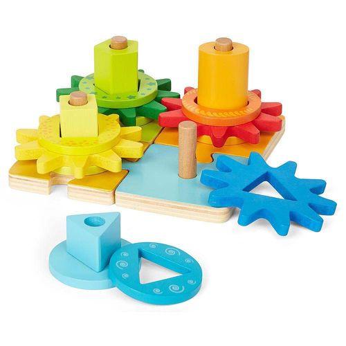 Drewniane Klocki Geometryczne