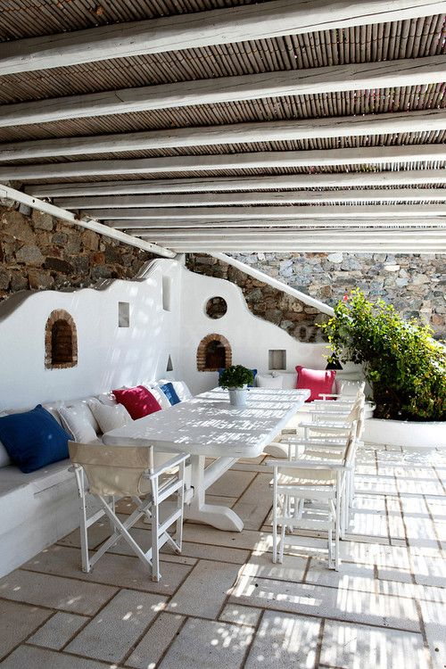 25 best ideas about spanish patio on pinterest spanish for Outdoor furniture spain