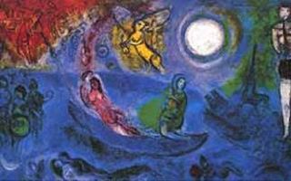 Chagall | Marc Chagall - Lovers | Pinterest Chagall Witte Kruisiging