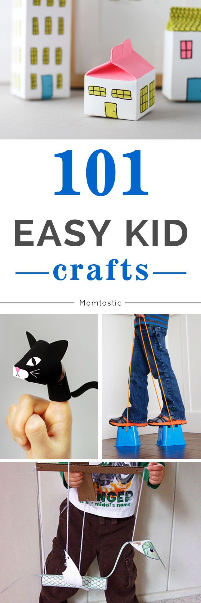 Rather than leave it up to the kids to entertain themselves, prepare yourself with a few of these craft projects that are guaranteed to keep them happy and entertained.