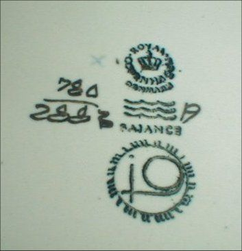 Dating royal copenhagen marks