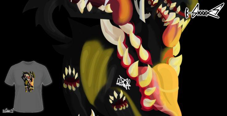 T-shirts - Design: Famine horse - by: DemiSaurus Rex