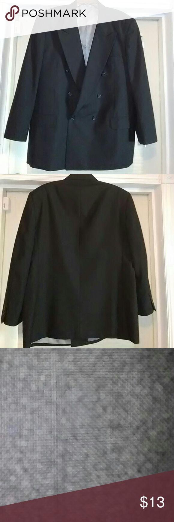 Men black suit jacket 46R Men black suit jacket Petrocelli Suits & Blazers Sport Coats & Blazers