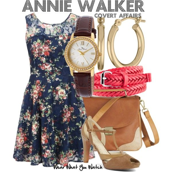 Inspired by Piper Perabo as Annie Walker on Covert Affairs.