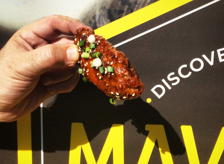 Maverick Wings® - Asian inspired Karaage Crispy Chicken Wings.