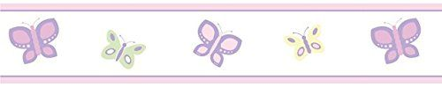 Pink and Purple Butterfly Baby and Childrens Wall Border ... http://www.amazon.com/dp/B002OJM5TE/ref=cm_sw_r_pi_dp_MIErxb1QRAYNJ