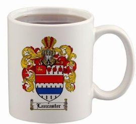 $15.99 Lancaster Coat of Arms Mug / Family Crest 11 ounce cup