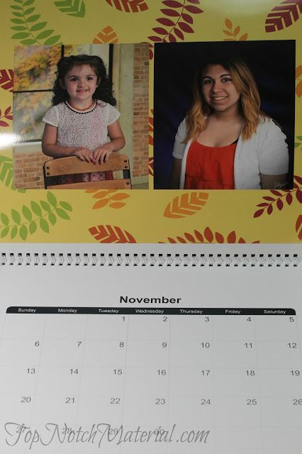 We love this calendar, and it makes for a great present. Walmart has so many options for photo gifts. | Client
