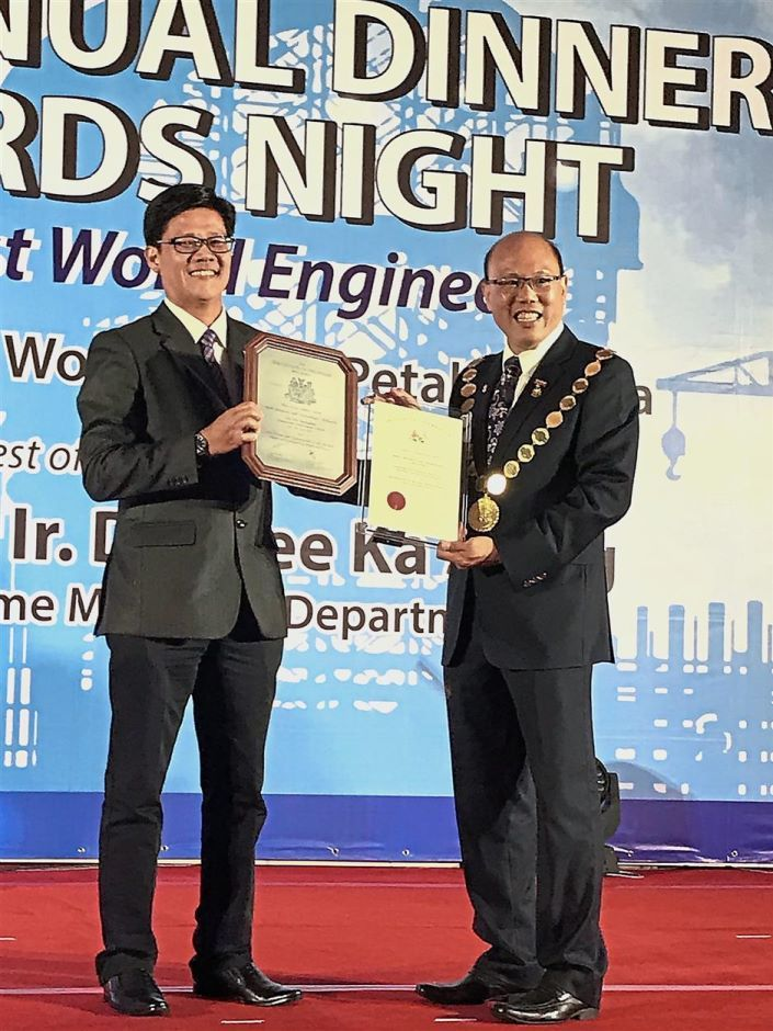 MIRI: The Institution of Engineers Malaysia (IEM) has awarded Shell Malaysia with the highest honour in design and engineering.