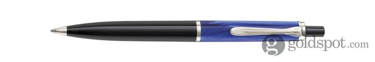 Pelikan Tradition Series 205 Blue Marbled Ballpoint Pen