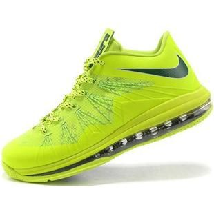 Find New Nike Air Max Lebron X Low Mens Fluorescence Green online or in  Footlocker. Shop Top Brands and the latest styles New Nike Air Max Lebron X  Low Mens ...