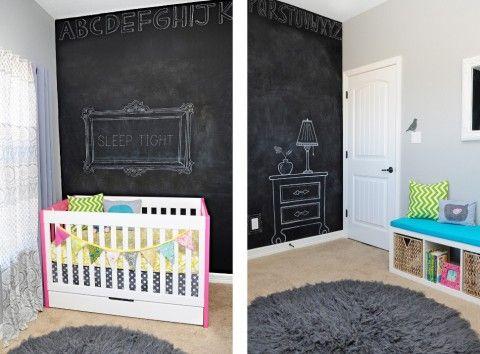 Chalk board walls!