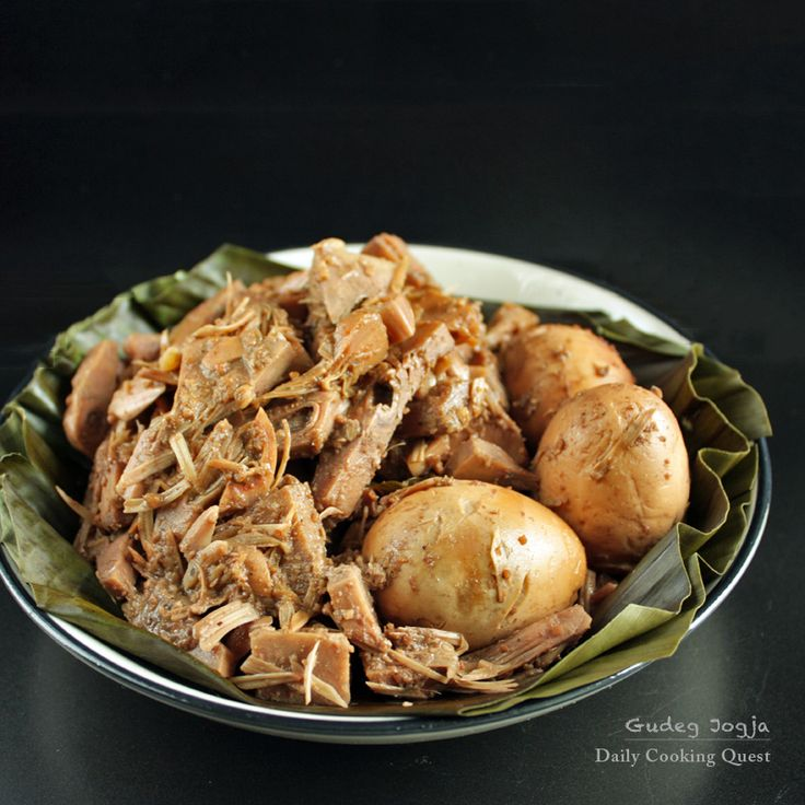 Gudeg Jogja – Yogyakarta Jackfruit Stew...Special Food from Jogjakarta, Central Java