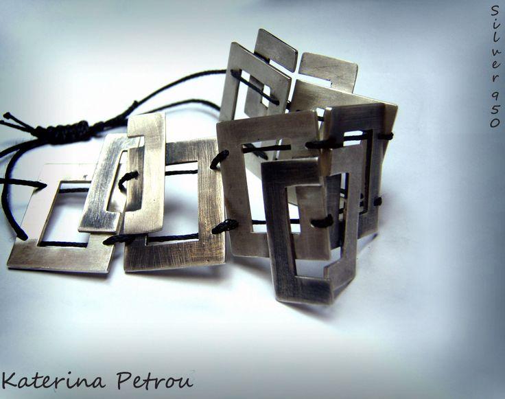Handmade Bracelet- Silver 950 https://www.facebook.com/katpetrou.jewellery