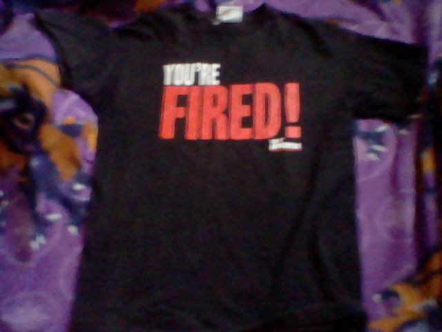 DONALD TRUMP The Apprentice YOUR FIRED! 2005  T-SHIRT,mens muedium  #MADENGINE #GraphicTee
