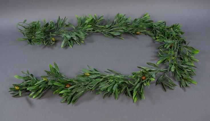 Olivengirlande 190cm mit Oliven GA Kunstpflanzen künstliche Girlande | Möbel & Wohnen, Dekoration, Blumen & Künstliche Pflanzen | eBay!