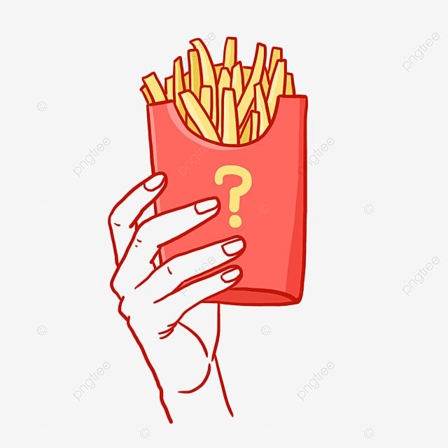 Hand Pick Fries Png Free Material French Fries Fried Food Red Png Transparent Clipart Image And Psd File For Free Download Sketch Free Clip Art Watercolor Flower Background