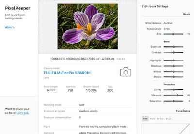 Come visualizzare i dati EXIF di foto online Come visualizzare i dati exif di qualsiasi fotografia per vedere i dati relativi allìora in cui la foto è stata scatta, l'otturazione, iso, la macchina fotografica con cui è stata scattata ed altri d #datiexiffoto