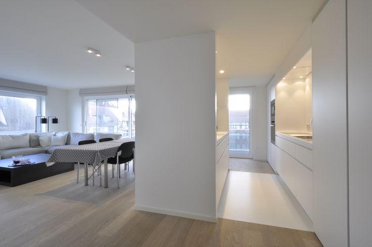 Verkoop Appartement 2 SLPK Knokke-Zoute - zonnig hoekappartement met zijdelings zeezicht