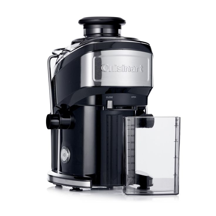 805634 - Cuisinart Compact Power Juicer QVC Price: £80.00  Event Price: £39.96 + P&P: £5.95 or 3 Easy Pays of £13.32 +P&P The lightweight and easy-to-use Cuisinart Compact Power Juicer features a powerful motor to instantly juice fruit and veg, a stainless steel housing and pitcher, plus removable parts you can throw in the dishwasher. Introduce a healthy alternative to sugar-packed drinks to your household and revel in knowing exactly what you're drinking with this handy appliance.