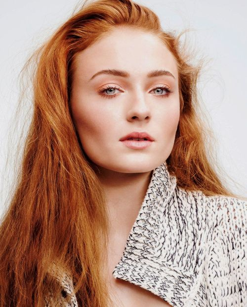 Sophie Turner by Horst Diekgerdes for InStyle US,March 2015