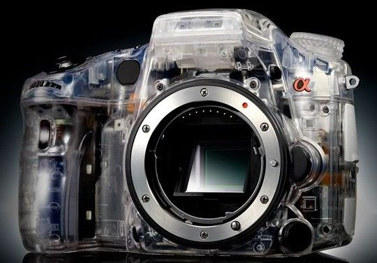 The Sony A77 DLSR: being see-through never looked so sweet.  #ILOVEPHOTOJOJO