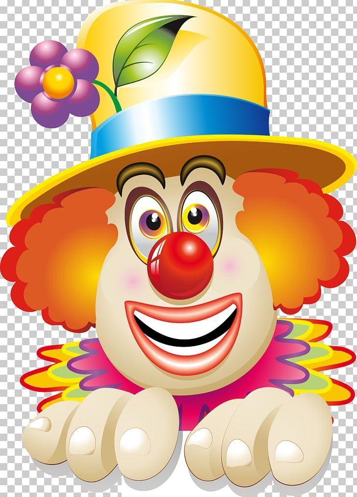 Clown Circus Face Png Art Carnival Cartoon Clown Vector Decoration Art Drawings For Kids Clown Watercolor Paintings For Beginners