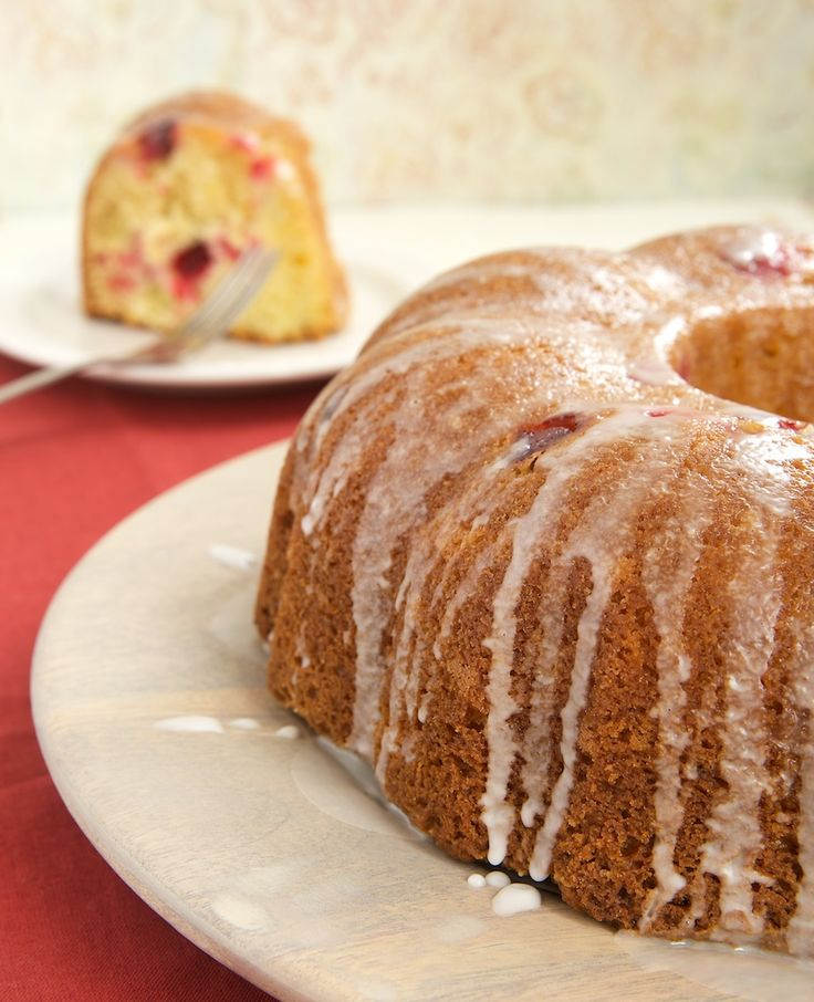 Cranberry Bundt Cake is a delicious blend of sweet and tart. A great cake for dessert or for snacking! - Bake or Break